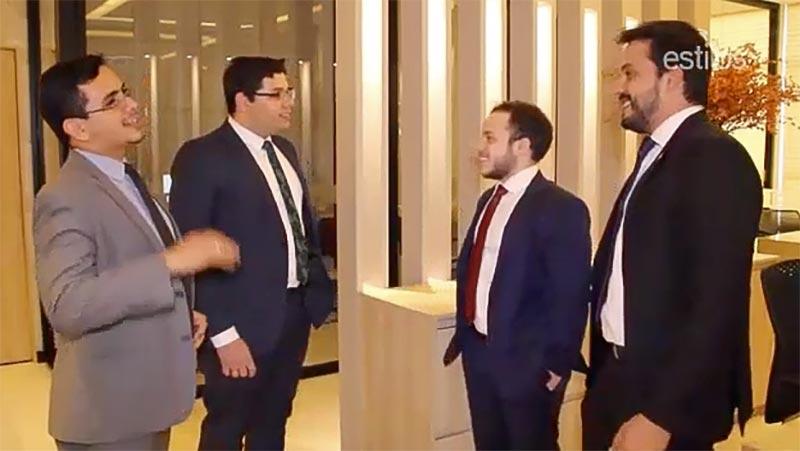 Dr. Perez Pa, Dr. Kalil Boahid, Dr. Matheus Pires e Dr. Gabriel Costa