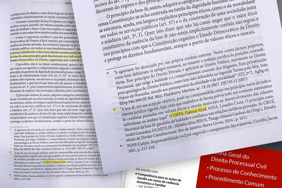 Página do Livro Curso de Direito Processual Civil